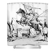 Dynamic America, 1889 Shower Curtain