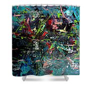 Dynamic Mind 1.0  Shower Curtain