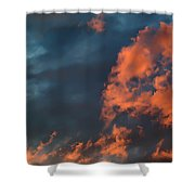 Dynamic Sky Shower Curtain