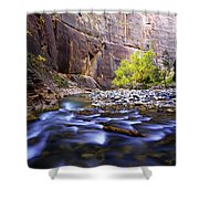 Dynamic Zion Shower Curtain