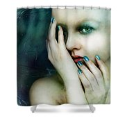 Dysthymia Shower Curtain