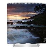 E Hamau O Makani Mai Auanei Aloha Paako Shower Curtain