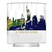E Pluribus Unum Shower Curtain