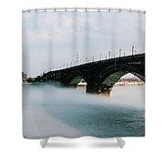 Eads Bridge St. Louis Missouri Shower Curtain