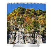Eager For Autumn Colors Shower Curtain