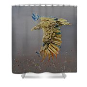 Eagle-abstract Shower Curtain