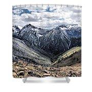 Oregon's Eagle Cap Wilderness  Shower Curtain