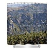 Eagle Cliff - Franconia Notch State Park New Hampshire Shower Curtain