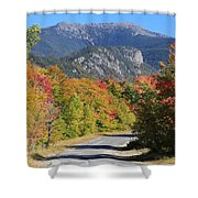 Eagle Cliff And Lafayette Shower Curtain