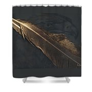 Eagle Feather   -006 Shower Curtain