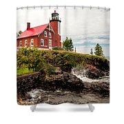 Eagle Harbor Lighthouse Shower Curtain