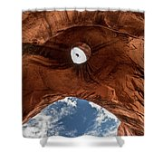 Eagle Head,  Monument Valley Shower Curtain