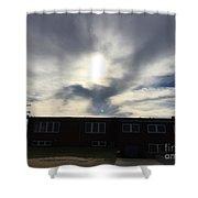 Eagle Cloud In The Carolina Sky Shower Curtain