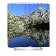 Eagle Lake Wilderness Shower Curtain