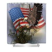 Eagle Lands Shower Curtain