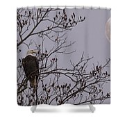 Eagle Lookout Shower Curtain