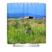 Eagle Nest New Mexico Shower Curtain