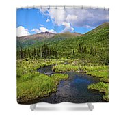 Eagle River- Alaska Shower Curtain