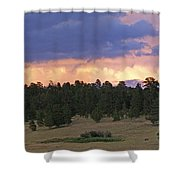 Eagle Rock Estes Park Shower Curtain
