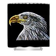Eagle - Sa96 Shower Curtain