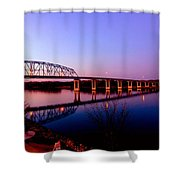 Eagle Watch Along The Mississippi Shower Curtain