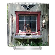 Eagle Window Shower Curtain