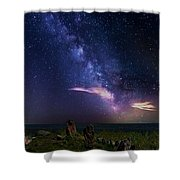 Eagle's Nest Shower Curtain