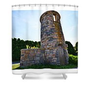 Earles Court Tower Shower Curtain