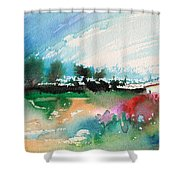 Early Afternoon 13 Shower Curtain