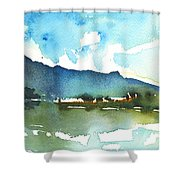 Early Afternoon 14 Shower Curtain