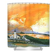 Early Afternoon 15 Shower Curtain