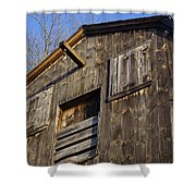 Early American Barn Shower Curtain