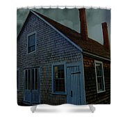 Early American Moonlight Shower Curtain