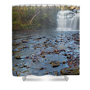Early Autumn At Pixley Falls Shower Curtain