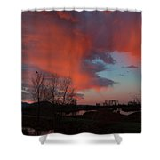 Early Dawn In The Wetlands Shower Curtain