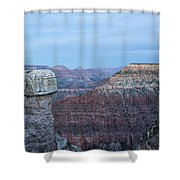 Early Evening At Grand Canyon No. 2 Shower Curtain