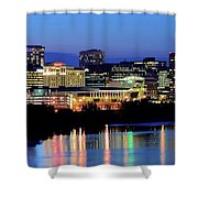 Early Evening In Hartford Shower Curtain