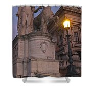 Early Evening In Rome Shower Curtain