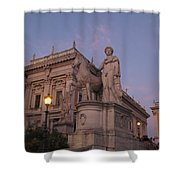 Early Evening Rome Number Two Shower Curtain