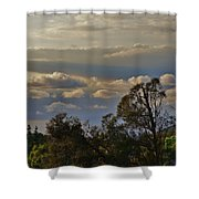 Early Evening Sunset 1 Shower Curtain