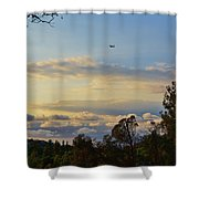 Early Evening Sunset 2 Shower Curtain