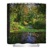 Early Fall At Montauk State Park  Shower Curtain
