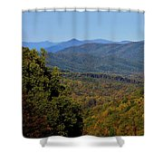Early Fall In Virginia Shower Curtain