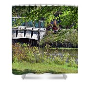 Early Fall Shower Curtain