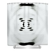 Early Image Of Dna Shower Curtain by Omikron
