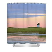 Early Light At Wood End Light Shower Curtain