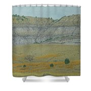 Early May On The Western Edge Shower Curtain
