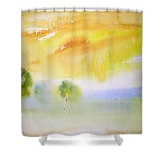 Early Morning 02 Shower Curtain