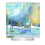 Early Morning 19 Shower Curtain