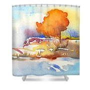 Early Morning 24 Shower Curtain